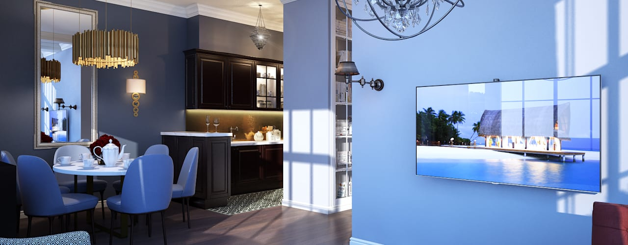 Living room by Natalia Solo Design