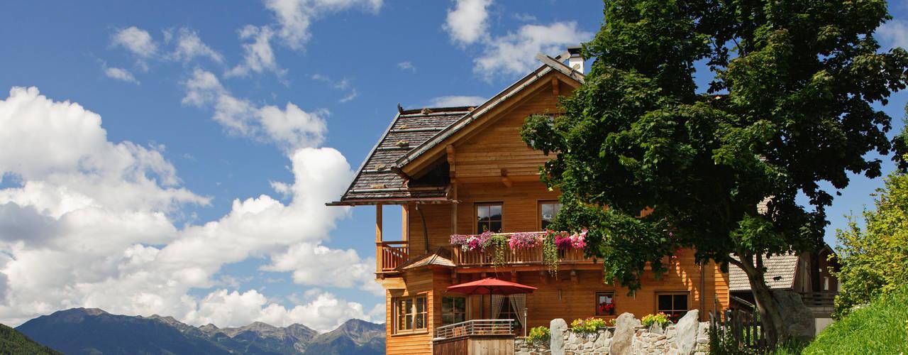 Projekty,  Domy zaprojektowane przez Thoma Holz GmbH