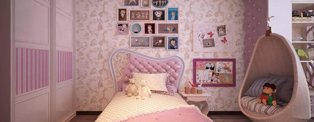 Phòng trẻ em phong cách kinh điển bởi Студия интерьерного дизайна happy.design Kinh điển
