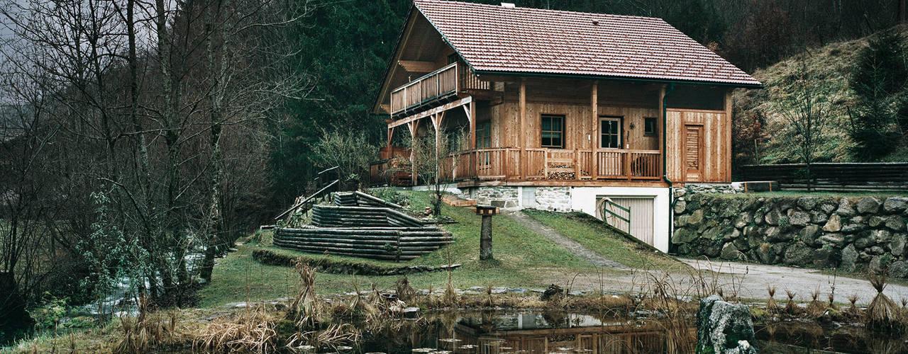 Thoma Holz GmbH: kırsal tarz tarz Evler