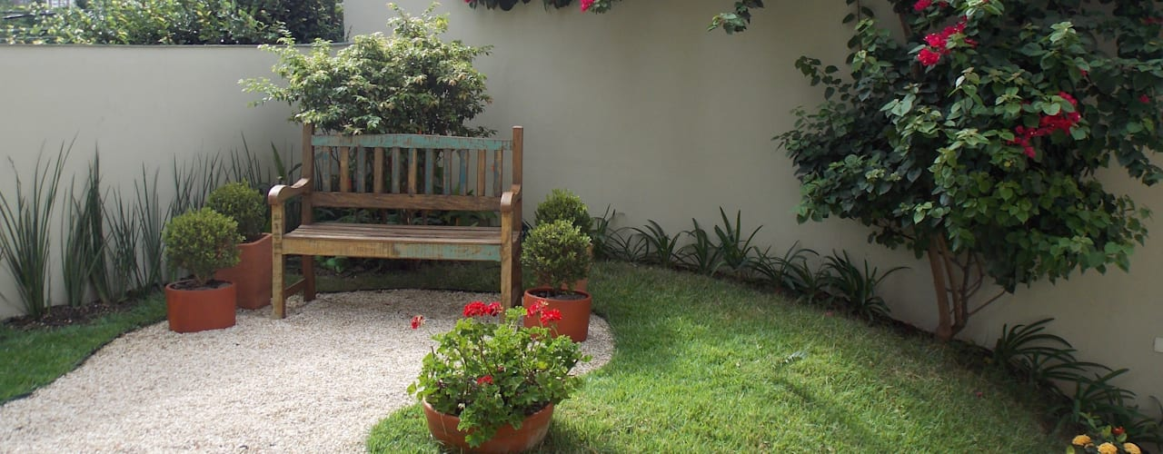 Tuin door Lúcia Vale Interiores