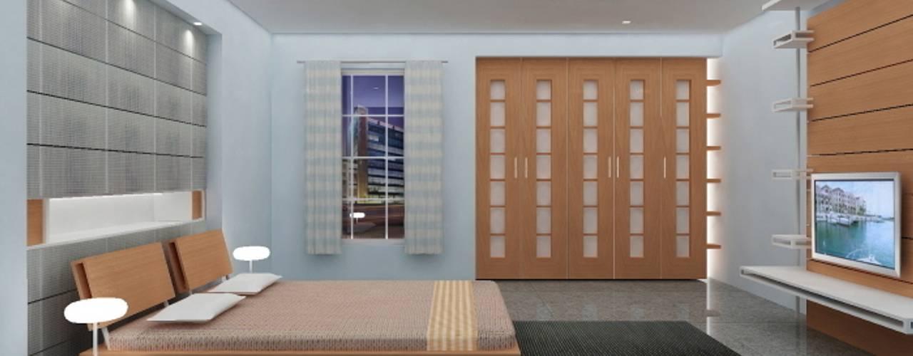 Bedroom by Preetham  Interior Designer