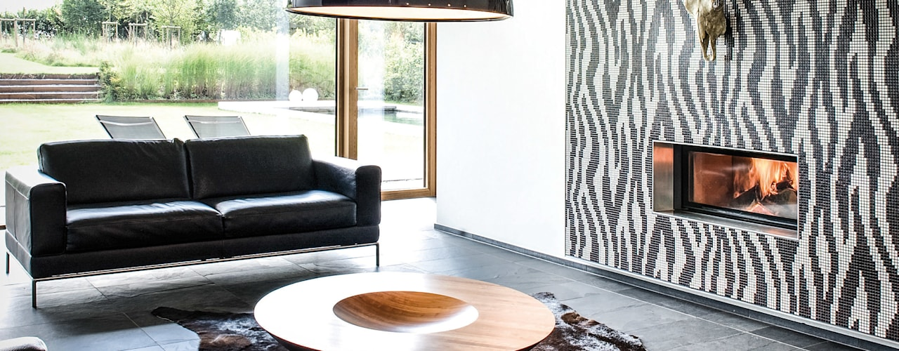 Salas de estar  por Maisons Loginter