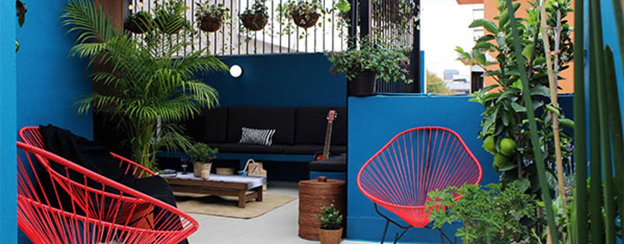 Varandas, alpendres e terraços modernos por NINA SAND Moderno