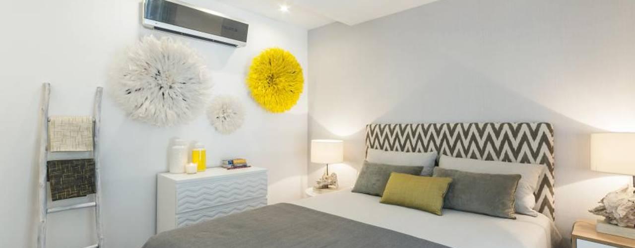 African Juju Room: Quartos  por Ana Rita Soares- Design de Interiores