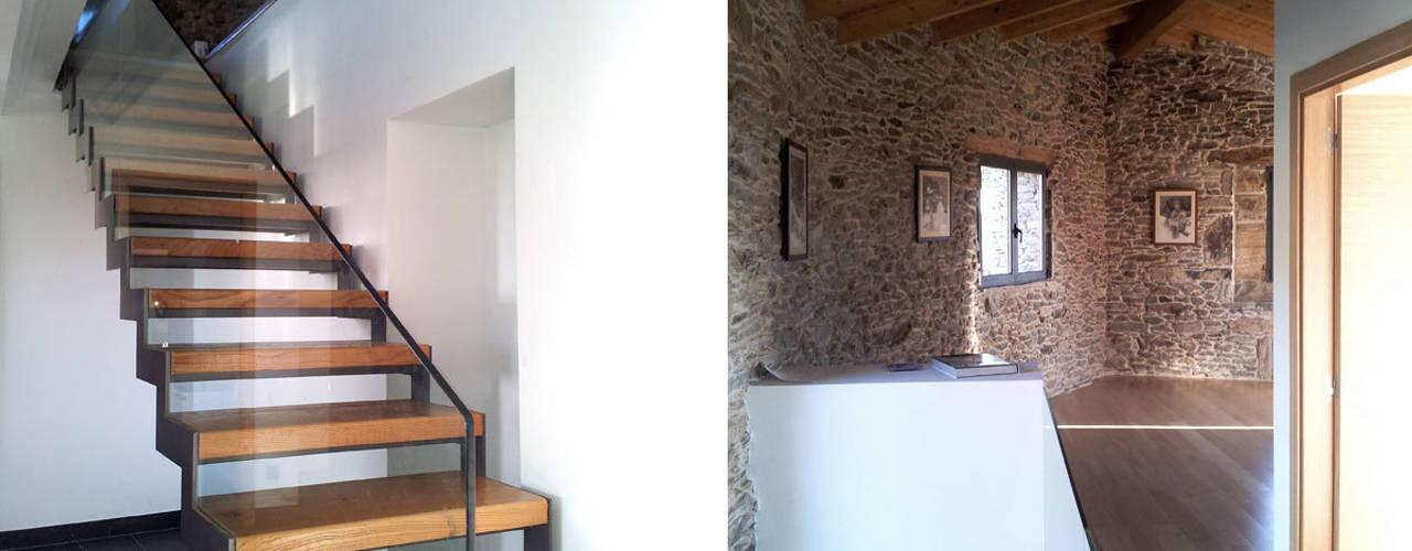 Pasillos y vestíbulos de estilo  por arquitectura SEN MÁIS
