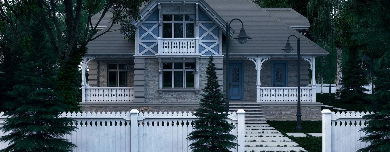 Загородный дом: Дома в . Автор – Максим Любецкий
