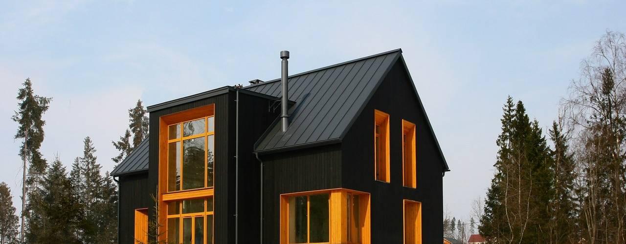 Projekty, skandynawskie Domy zaprojektowane przez Snegiri Architects