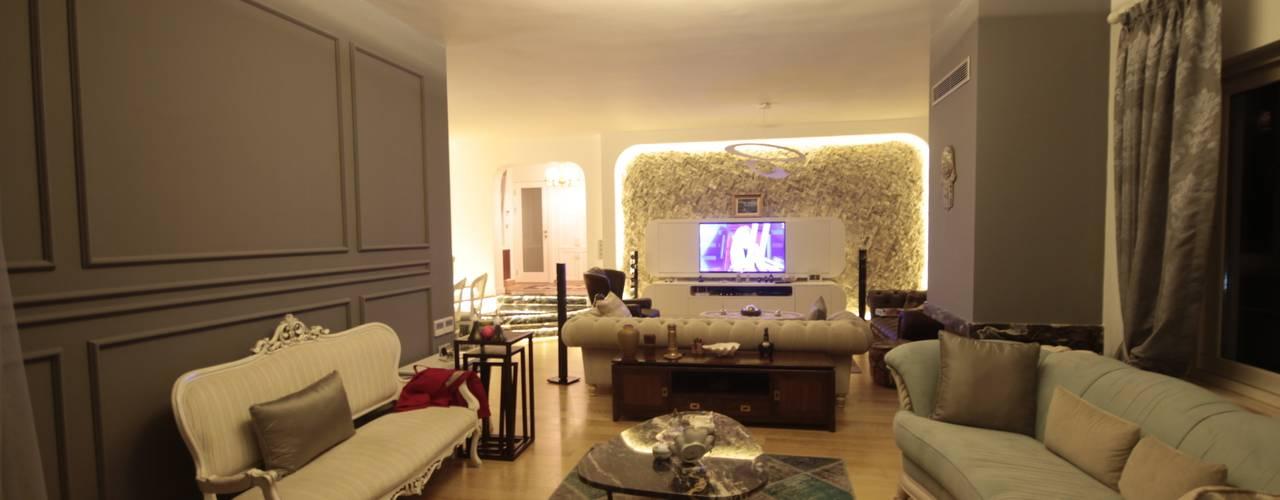 Salas / recibidores de estilo  por DerganÇARPAR Mimarlık