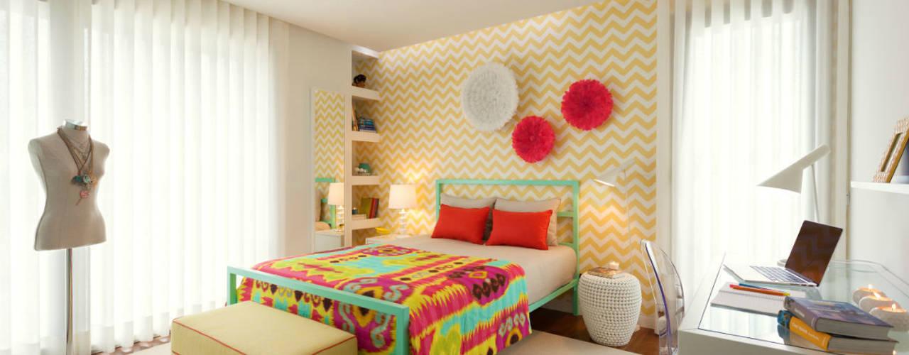 Camera da letto moderna di Ana Rita Soares- Design de Interiores Moderno