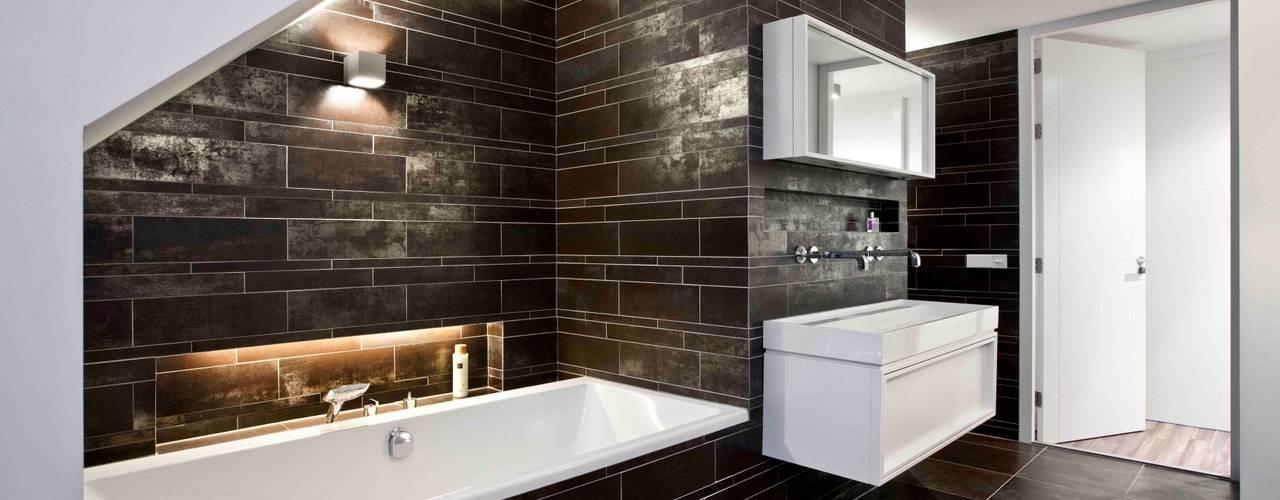 Interne verbouwing 2-onder-1-kap-woning a-LEX Moderne badkamers