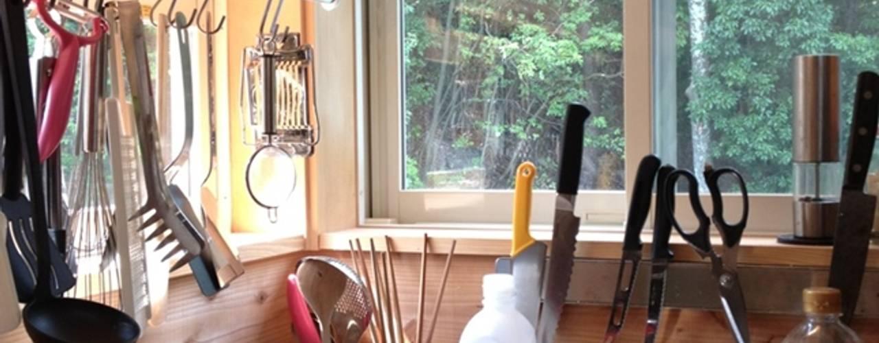 見せる収納のキッチン: みゆう設計室が手掛けたです。
