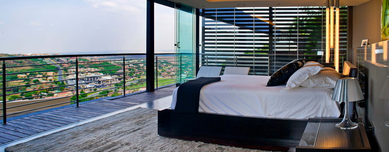 Bedroom by Nico Van Der Meulen Architects ,