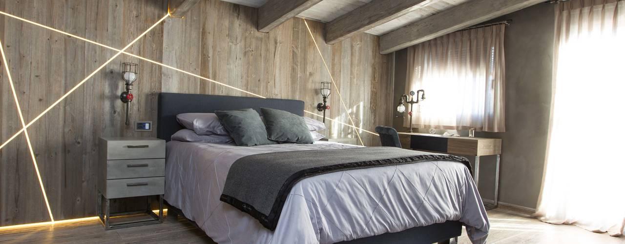 Dormitorios de estilo  por DF Design
