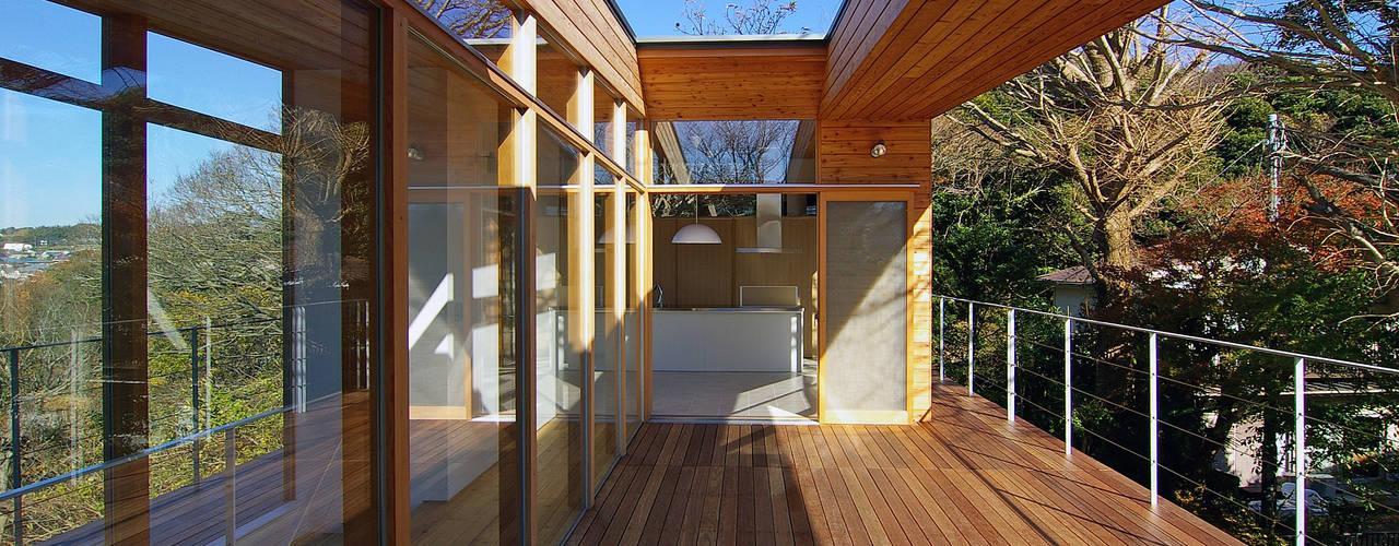 Projekty,  Ogród zaprojektowane przez 株式会社横山浩介建築設計事務所