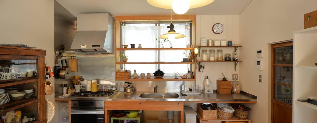 . 齋藤正吉建築研究所 北欧デザインの キッチン