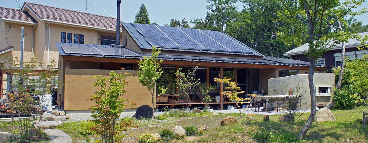 大井の平屋: 環境創作室杉が手掛けた家です。