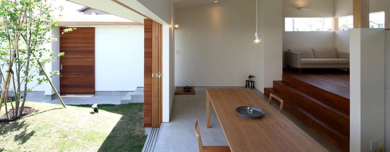 海東の家/地に近い平屋の暮らし 松原建築計画 一級建築士事務所 / Matsubara Architect Design Office 北欧デザインの リビング
