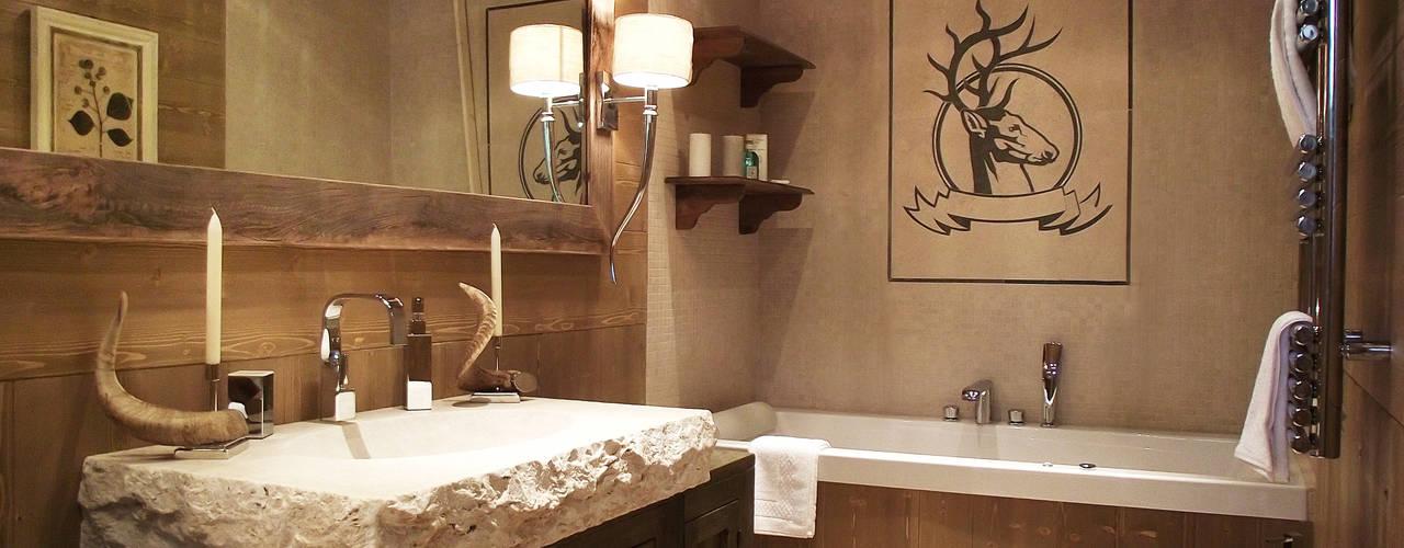 Salle de bain rustique par turco home srl Rustique