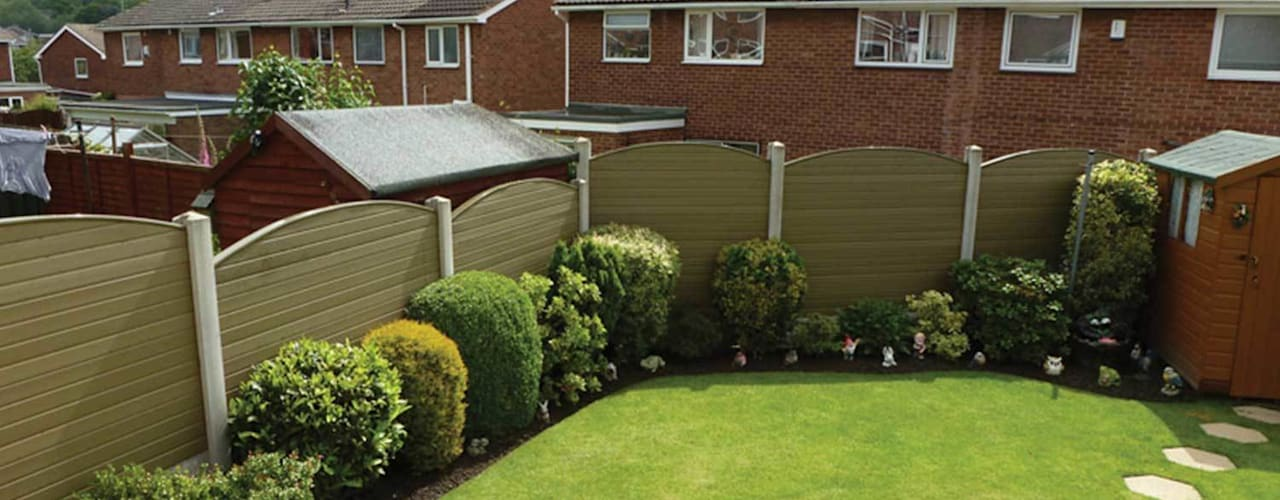 Atkinsons Fencing Work Scandinavian style garden by Atkinsons Fencing Ltd Scandinavian