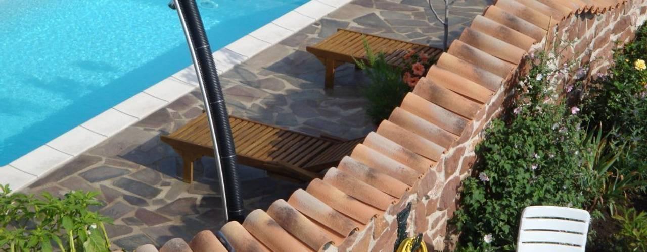 Jardines de estilo mediterráneo de Rimini Baustoffe GmbH Mediterráneo