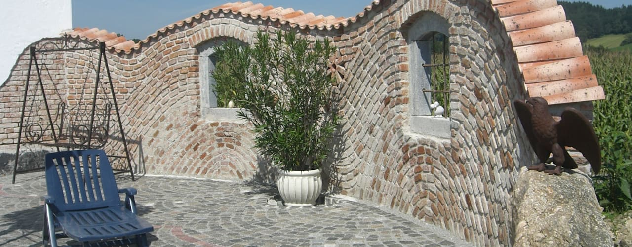 Jardines mediterráneos de Rimini Baustoffe GmbH Mediterráneo