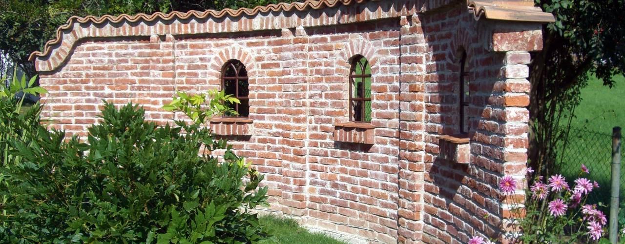 Сад в средиземноморском стиле от Rimini Baustoffe GmbH Средиземноморский
