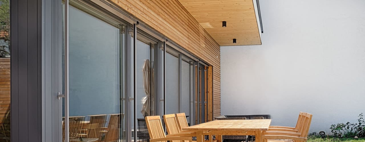 Terrazas de estilo  por AL ARCHITEKT - Architekten in Wien