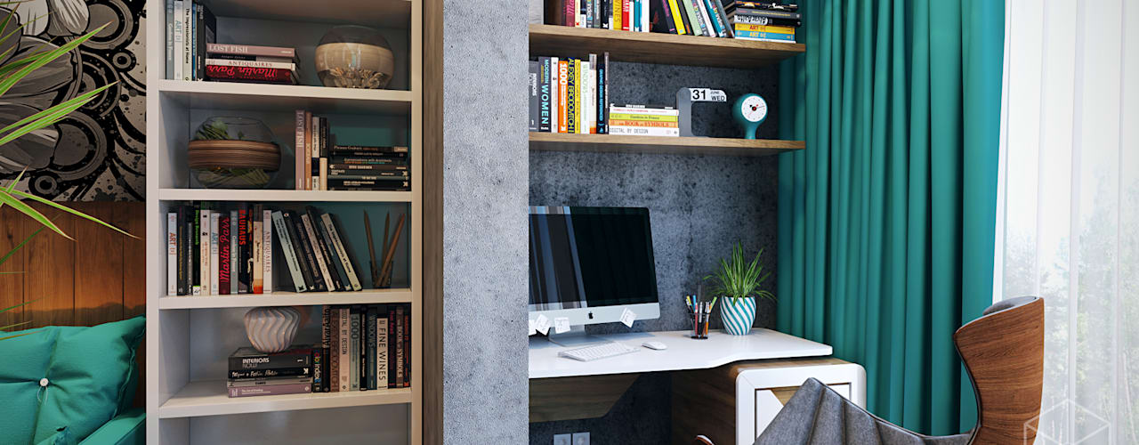Projekty,  Taras zaprojektowane przez студия визуализации и дизайна интерьера '3dm2'