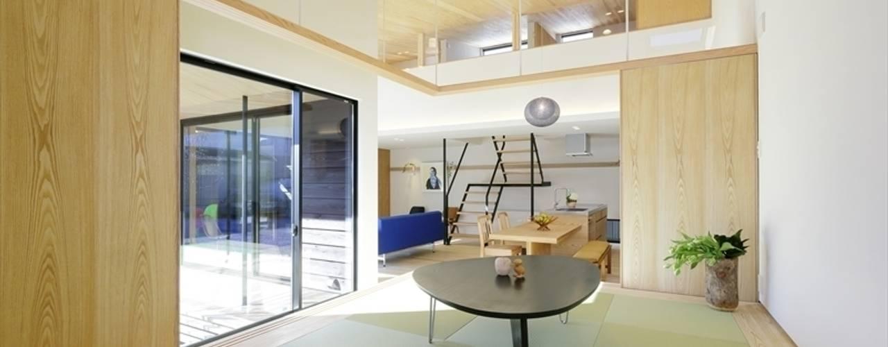 視聽室 by 長谷川拓也建築デザイン, 日式風、東方風