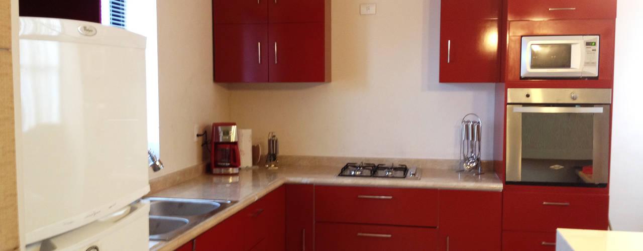 Kitchen by arkar mobiliario integral, Modern
