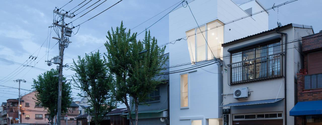 外観(夜景): 井戸健治建築研究所 / Ido, Kenji Architectural Studioが手掛けた家です。
