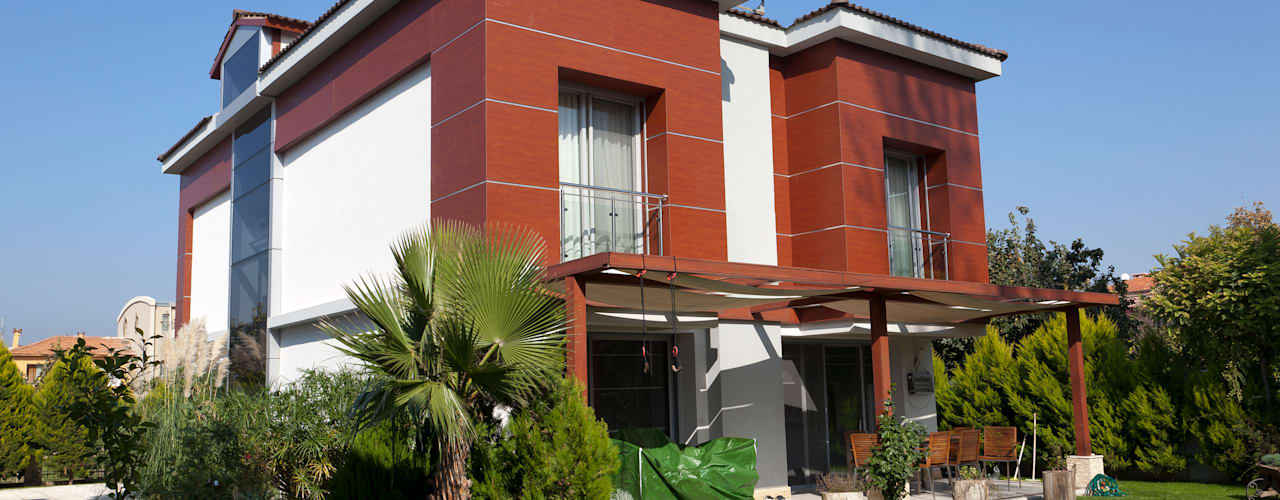 Mimkare İçmimarlık Ltd. Şti. Modern style balcony, porch & terrace