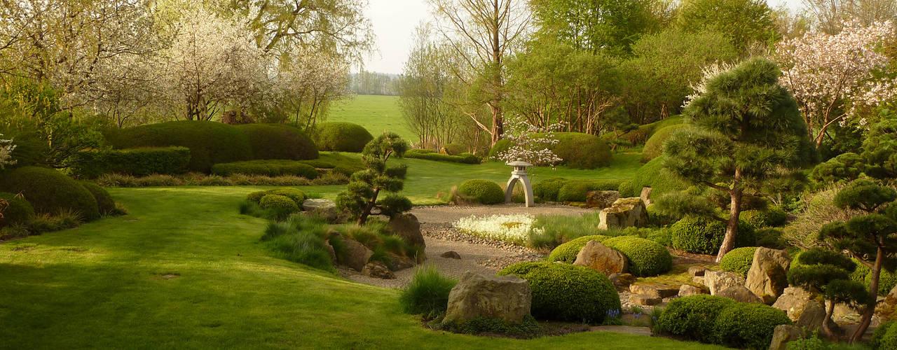 Jardins asiáticos por ROJI Japanische Gärten Asiático