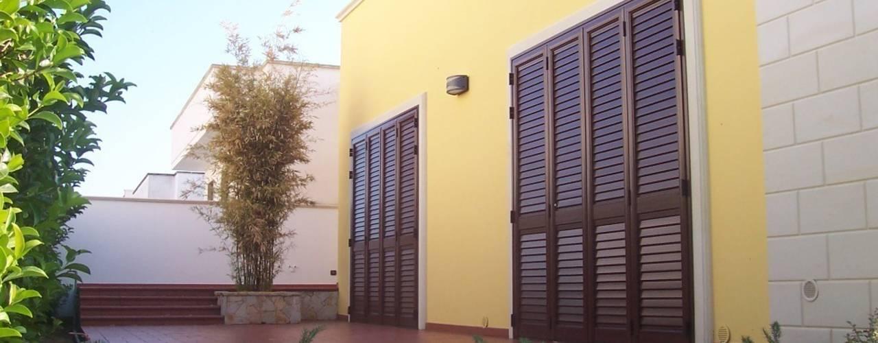 Casas de estilo  por Gianluca Vetrugno Architetto,