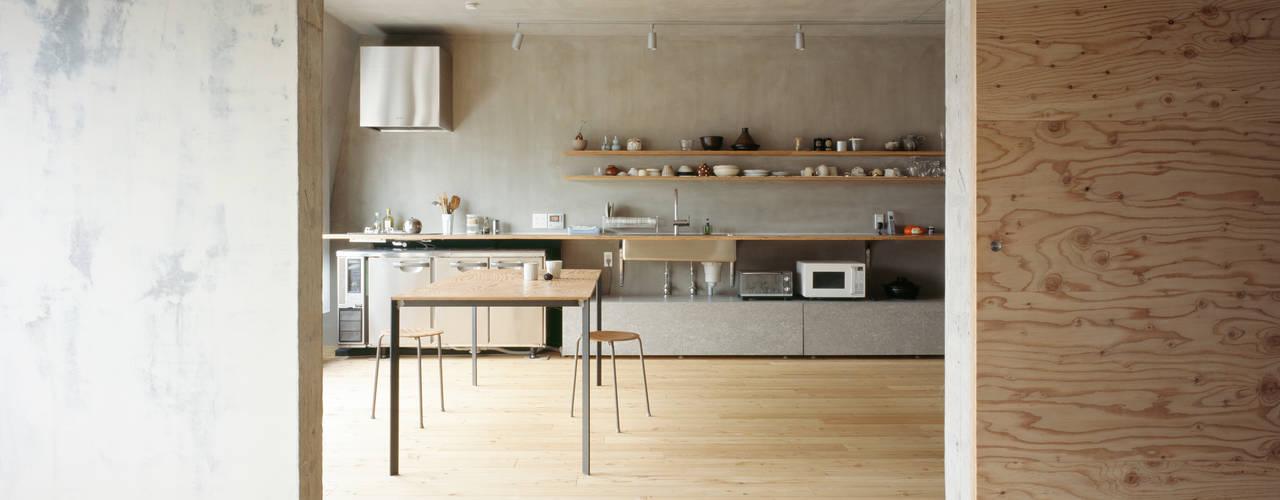SUGAWAHOUSE ラスティックデザインの ダイニング の 苅部 寛子建築設計事務所 /OFFICE OF KARIBE HIROKO ラスティック