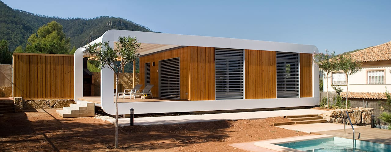 Casas de estilo  por NOEM