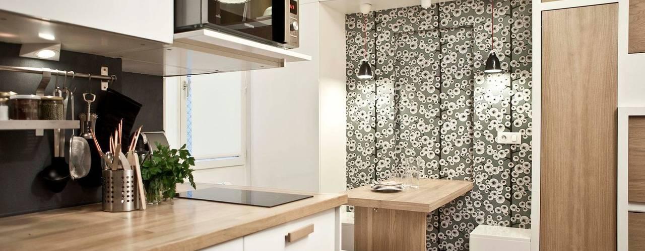 Salas de jantar escandinavas por Géraldine Laferté