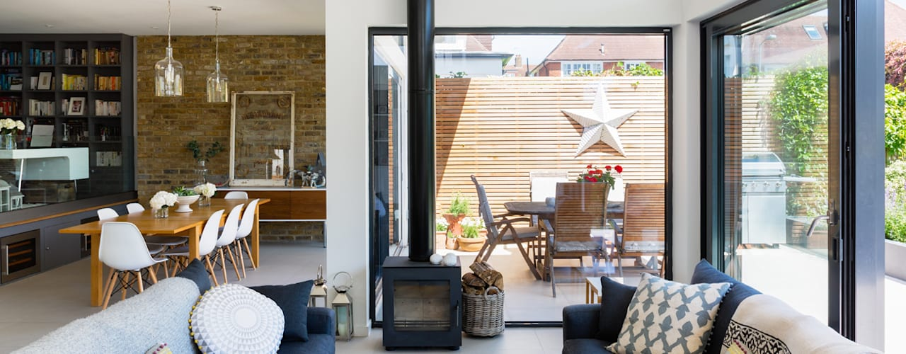 Broadgates Road SW18 Livings modernos: Ideas, imágenes y decoración de BTL Property LTD Moderno