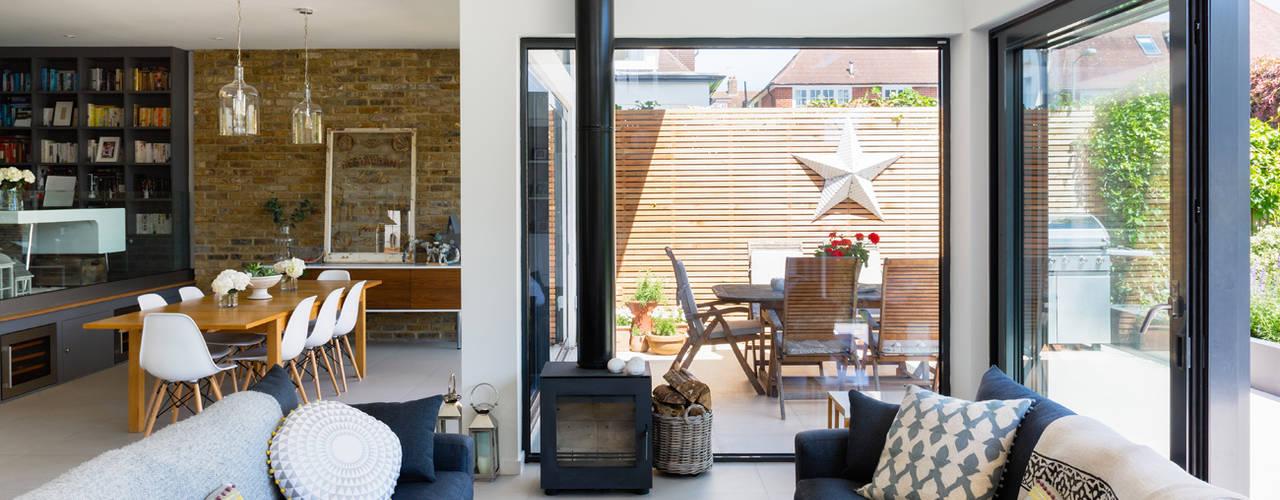 Broadgates Road SW18 Salas de estar modernas por BTL Property LTD Moderno