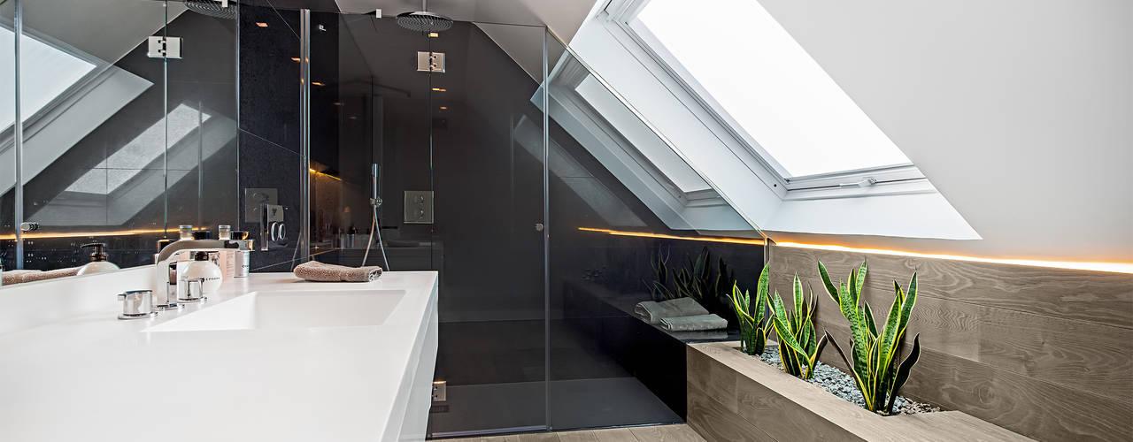 Moderne badkamers van Tarimas de Autor Modern