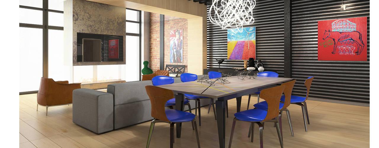 Давайте чаще встречаться!: Столовые комнаты в . Автор – FEDOROVICH Interior