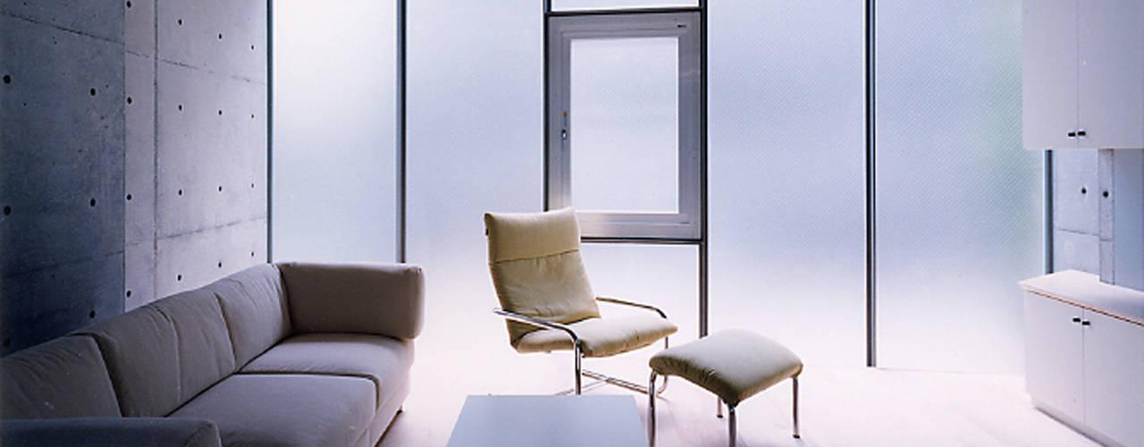 Modern Living Room by スタジオ4設計 Modern