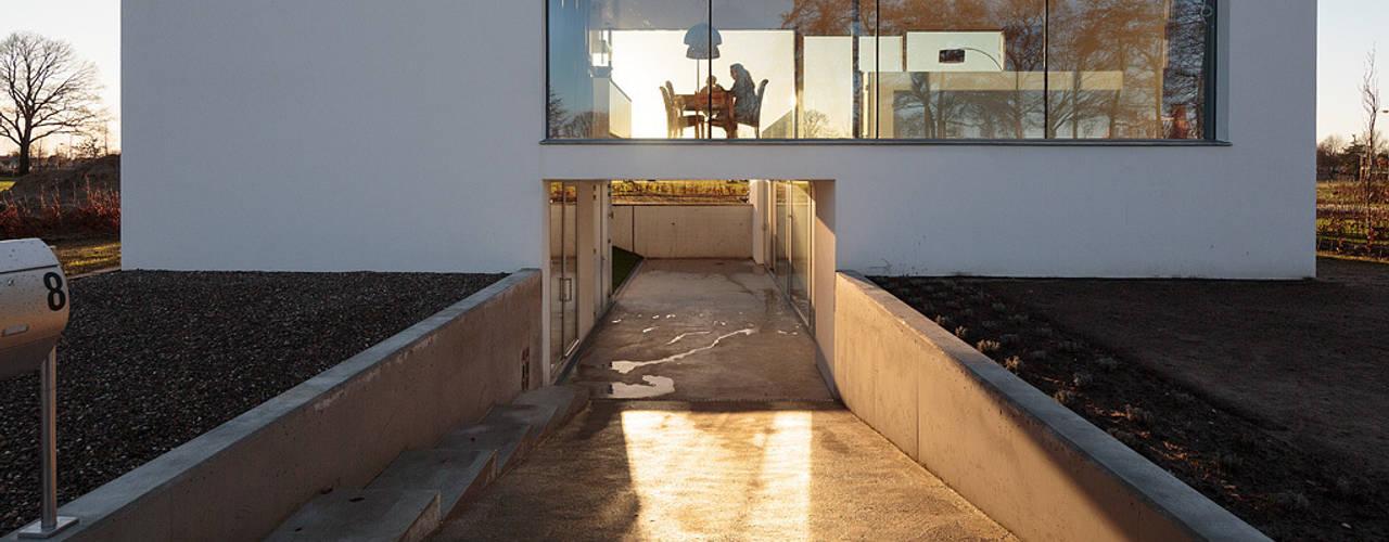 Projekty,  Domy zaprojektowane przez reitsema & partners architecten bna