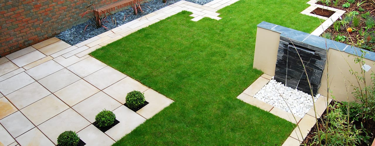 The Lollipop garden Modern garden by Robert Hughes Garden Design Modern