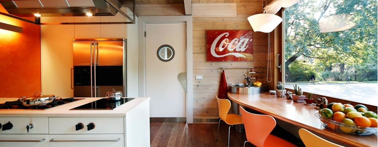 Moderne keukens van alberico & giachetti architetti associati Modern