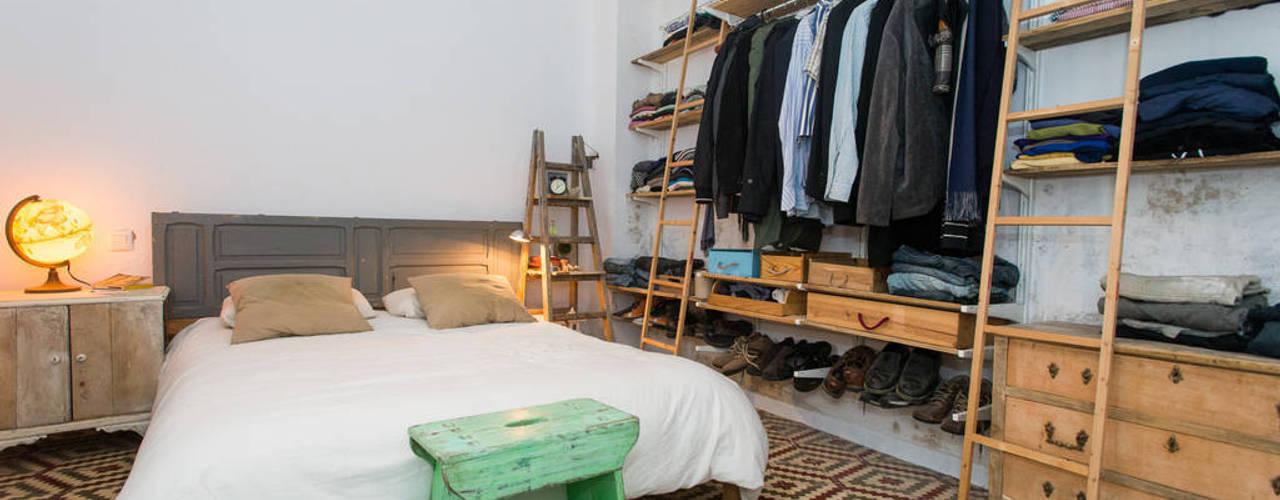 北欧スタイルの 寝室 の J 北欧