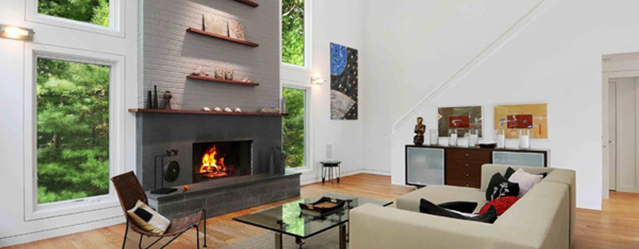 Salas / recibidores de estilo  por Eisner Design, Moderno