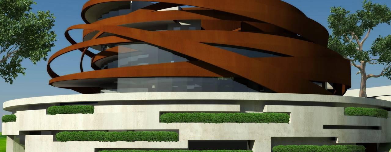 House Bok Casas modernas de Nico Van Der Meulen Architects Moderno