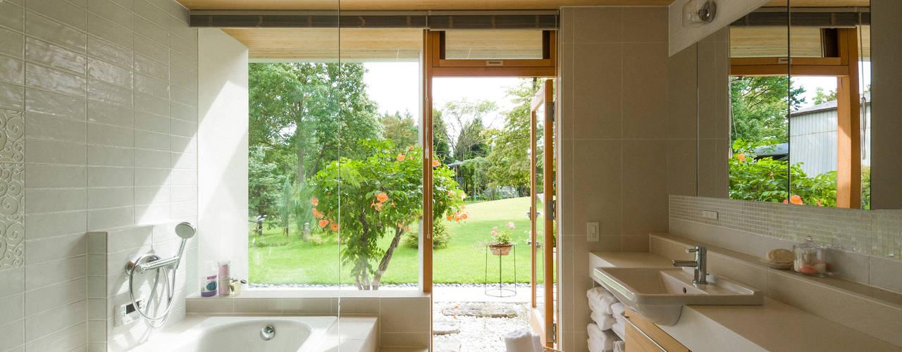 軌跡の家 FEDL(Far East Design Labo) オリジナルスタイルの お風呂